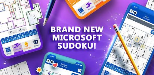 Screenshot of Microsoft Sudoku