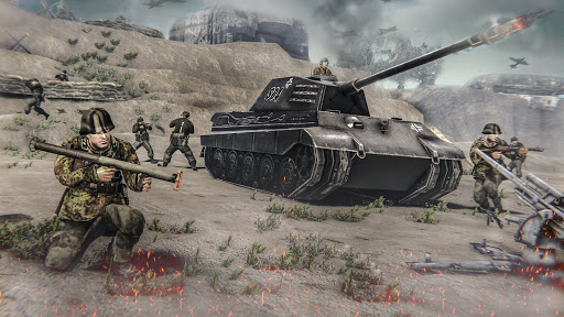 Medal Of War : WW2 Tps Action Game  screenshots 2