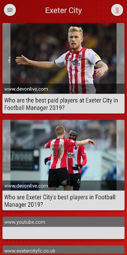 efn - unofficial exeter city football news screenshot 2