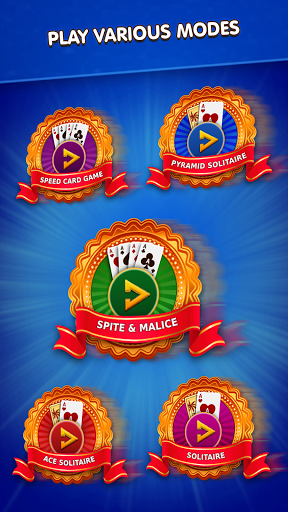 Spite & Malice - Play Solitaire Free Variations  screenshots 1