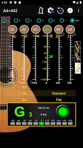 GuitarTuner - Tuner for Guitar apktram screenshots 2