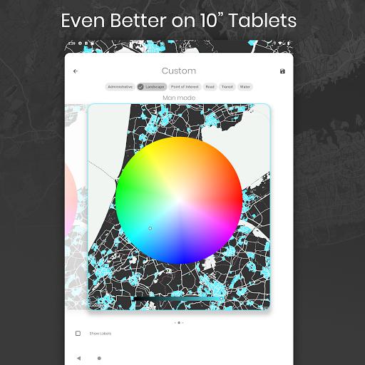 Cartogram - Live Map Wallpapers & Backgrounds modavailable screenshots 6
