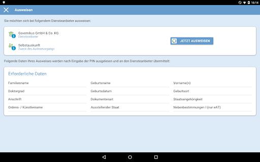 AusweisApp2 1.20.2 screenshots 8