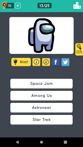Guess the Logo: Multiple Choice Quiz 2.4.9 Screenshots 3