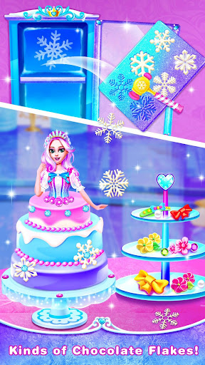 Ice Princess Comfy Cake -Baking Salon for Girls 1.6 screenshots 4