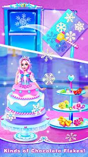 Ice Princess Comfy Cake -Baking Salon for Girls 2.1 screenshots 4