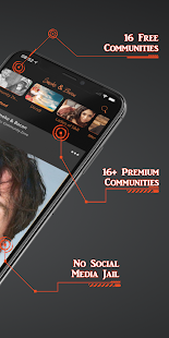 Smoke & Bacon Community Social Media App