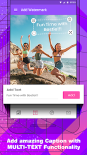 Photo Text Editor App with Cool Stickers: Logext