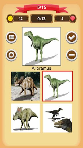 Dinosaurs Quiz 1.9.0 screenshots 2