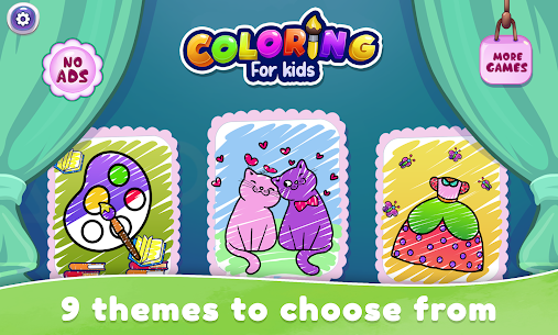 Coloring Book For Kids & Toddlers Drawing Game 1