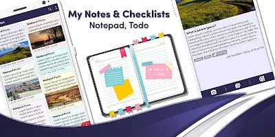 My Notes & Checklists - Notepad, Todo