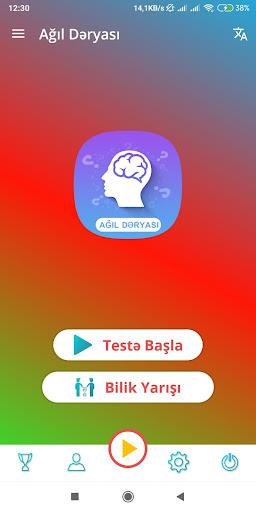 Ağıl Dəryası - Online Bilik Yarışması 1.0.4 screenshots 1