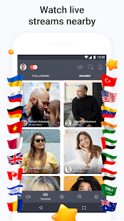 Tango - Live Video Broadcasts and Streaming Chats Screenshot