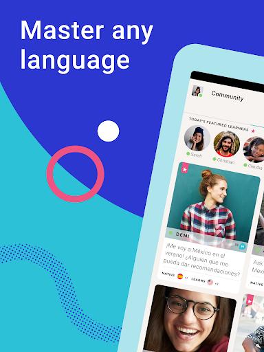 Tandem Language Exchange: Speak & learn languages 2.4.2 Screenshots 7