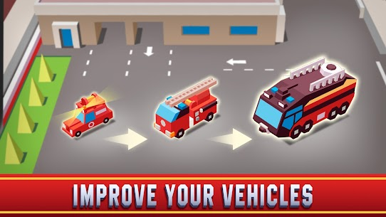 Idle Firefighter Empire Tycoon Mod Apk- Management Game (Unlimited Money) 2