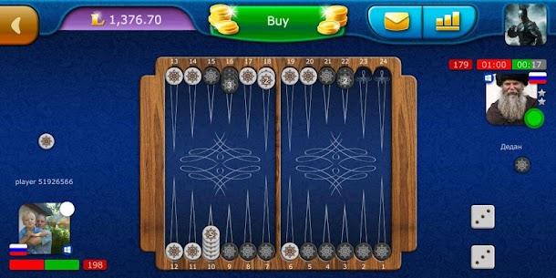 Backgammon LiveGames – live free online game 7