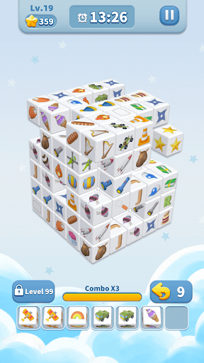 Cube Master 3D - Match 3 & Puzzle Game Apkfinish screenshots 6