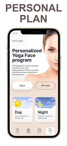 Face Yoga - face exercise for women and skin care  Screenshots 1