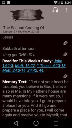 SDA Sabbath School Quarterly  screenshots 5