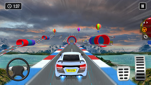 Mega Ramp Car Stunt Game 3d - New Car Games 2021 screenshots 6
