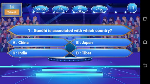 Millionaire 2020 - Free Trivia Quiz Game 1.0.2 Screenshots 2