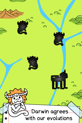 Monkey Evolution - Simian Missing Link Game android2mod screenshots 3