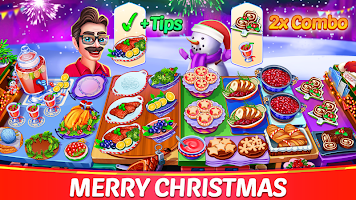 Christmas Cooking : Crazy Food Fever Cooking Games