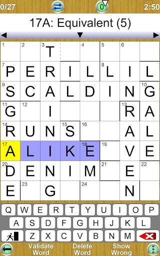 Barred Crossword 3.0.3 screenshots 14