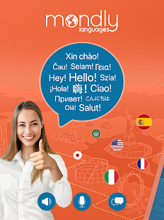 Learn 33 Languages Free - Mondly Screenshot