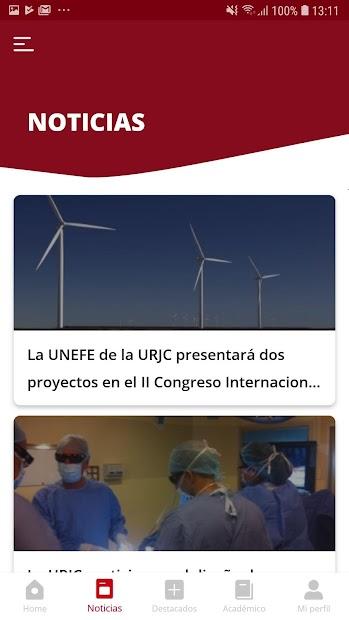 Screenshot 7 de URJC App Univ. Rey Juan Carlos para android
