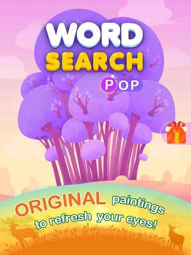 Word Search Pop - Free Fun Find & Link Brain Games  screenshots 8