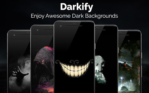Black Wallpaper, AMOLED, Dark Background: Darkify MOD APK V10.1 – (VIP Unlocked) 1