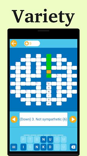 Easy Crossword: Crosswords for Beginner 1.0.8 screenshots 12
