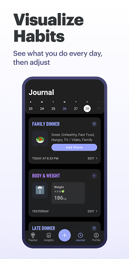 Simple: Intermittent fasting and meal tracking 6.3.2 Screenshots 7