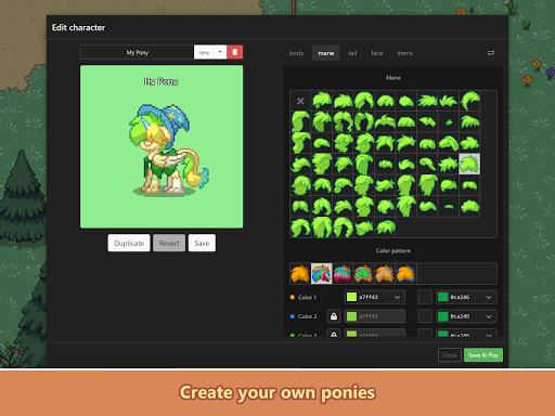 Pony Town - Social MMORPG screenshots 18