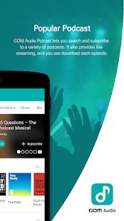 GOM Audio - Music, Sync lyrics, Podcast, Streaming screenshots 5