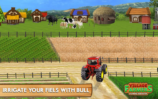 Village Plow bull Farming  screenshots 5