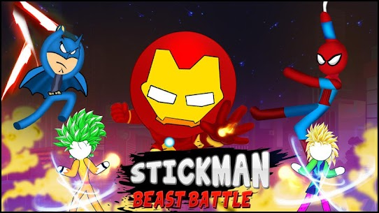 Stickman Beasts Battle : Fun Fighting Games 2020 Hack Game Android & iOS 3
