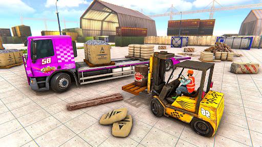 Utility Construction Machines: Construction City apklade screenshots 2