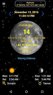 Moon Calendar 3.0 Screenshots 1