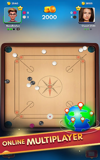 Carrom Kingu2122 - Best Online Carrom Board Pool Game 3.1.0.74 screenshots 11
