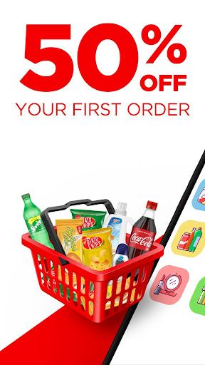 Wabi: Your Online Convenience Store -Free Delivery  Screenshots 1