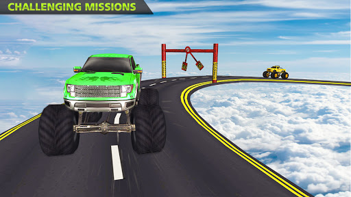 Monster Truck Stunts on Impossible Track New 2021 apktram screenshots 6