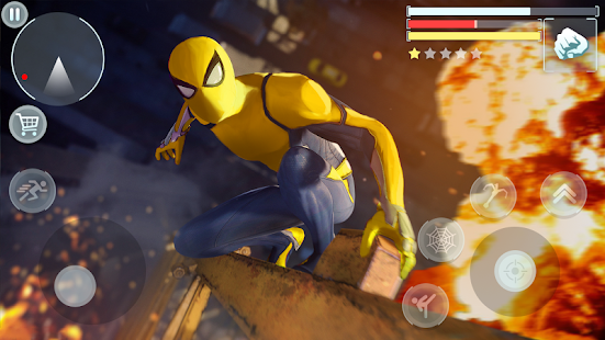 Spider Hero - Super Crime City Battle 1.0.10 Screenshots 4