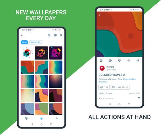 Download APK: Creative App. Wallpapers Ringtones Homescreen v2.9.4 [Premium]