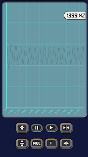 Multimeter/Oscilloscope/Sound Generator Screenshot