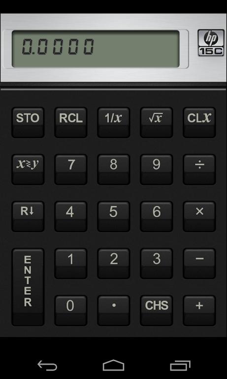 HP 15C Scientific Calculator  poster 2