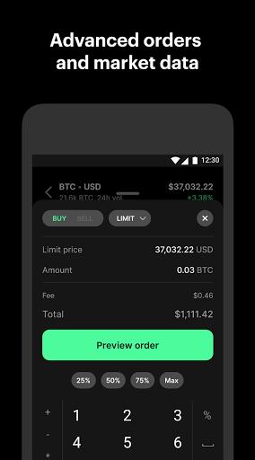 Coinbase Pro – Bitcoin & Crypto Trading app screenshot