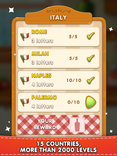 Word Pizza - Word Games Puzzles  screenshots 9