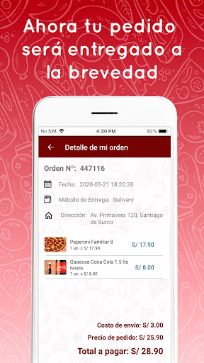 Pizza Raul Delivery 3.0.9 Screenshots 7